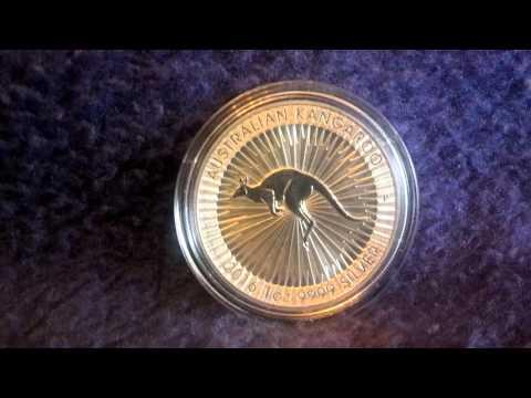 Silber Australian Känguru Bullion von Perth Mint