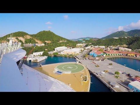 Oasis of the Seas arrives in St. Thomas, US Virgin Islands