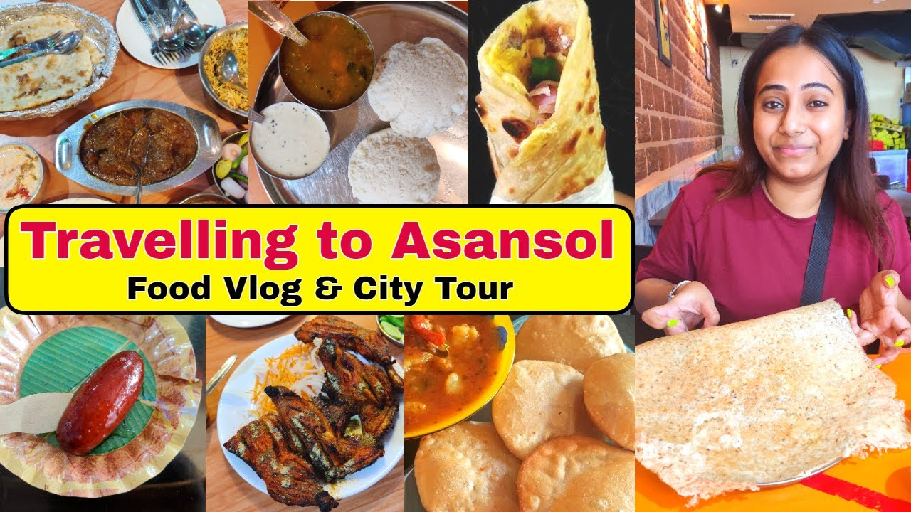Travelling to Asansol after lockdown | Travel & Food Vlog | One Day road trip trip to Asansol