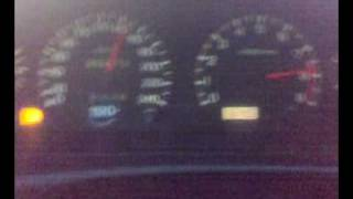 My Nissan Sunny N14 GTi @ SR20VE on N1 Cams acceleration 0-210km/h