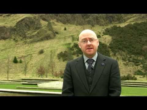 60 sec interview - Patrick Harvie, Co-convenor, Green Party