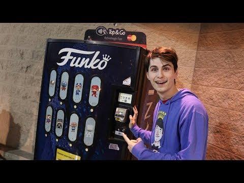 Pop Vending Machine at Walmart
