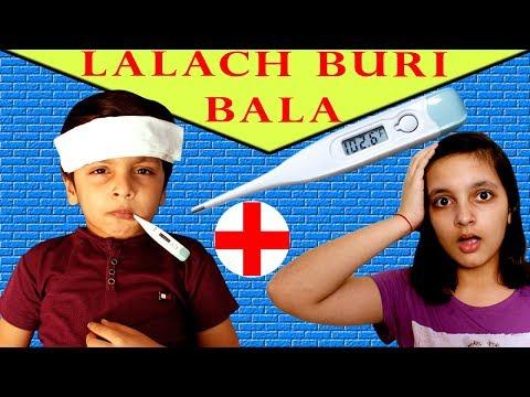MORAL STORY FOR KIDS | LALACH BURI BALA | #Fun #RolePlay Good habits Aayu and Pihu Show