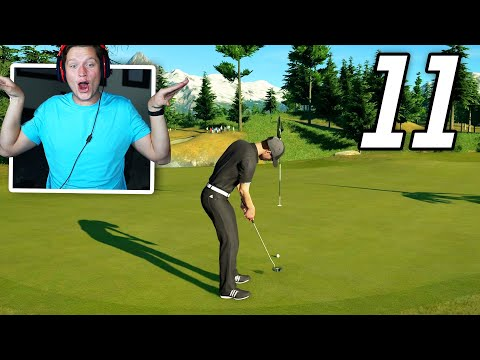 PGA Tour 2K21 Career - Part 11 - MY FIRST EAGLE! (Best Round Yet)