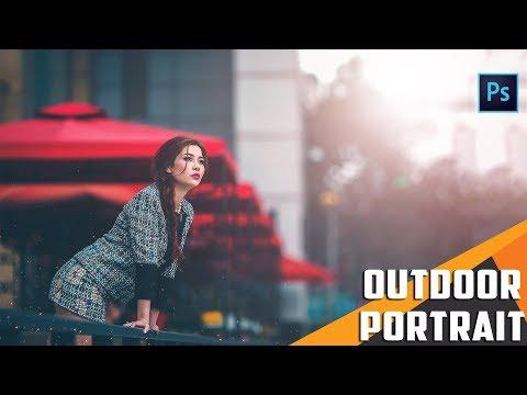 Photoshop Tutorial : Outdoor Portrait Edit - Color Grading Like Pro thumbnail