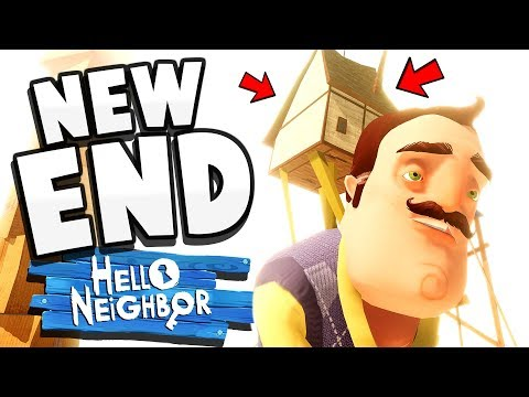 THE FINAL BATTLE, THE FINAL ENDING - Hello Neighbor Beta 3 (Hello Neighbor Boss Ending)