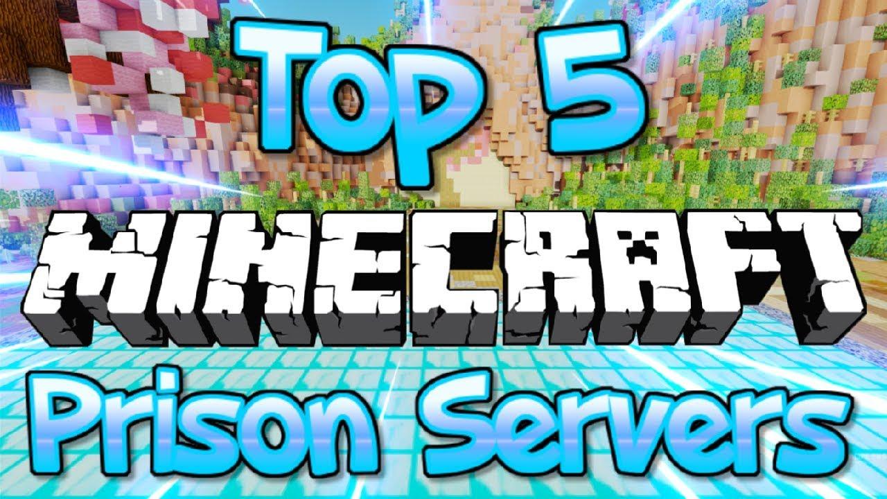 TOP 5 OP MINECRAFT PRISON SERVERS 1 8/1 9/1 10/1 12 2/1 13 2/1 14