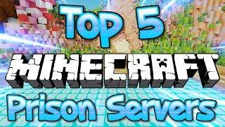 TOP 5 OP MINECRAFT PRISON SERVERS 1.8/1.9/1.10/1.12.2/1.13.2/1.14 2019 [HD]
