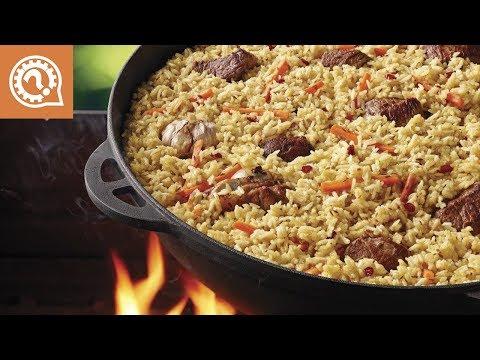 Готовим мясо на костре.  Ужин крутых выживальцев- 2