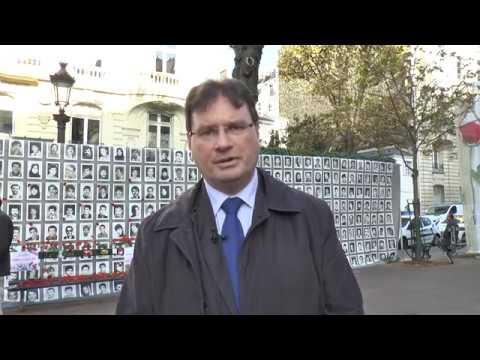 Exposition - Des députés s'informent de la situation des droits humain en Iran