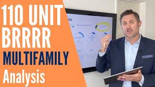 110 Unit BRRRR Method Multifamily Analysis   Justin Brennan