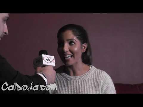 Melissa Molinaro Interview with CalDoJa at Blo Hookah 11 22 2014