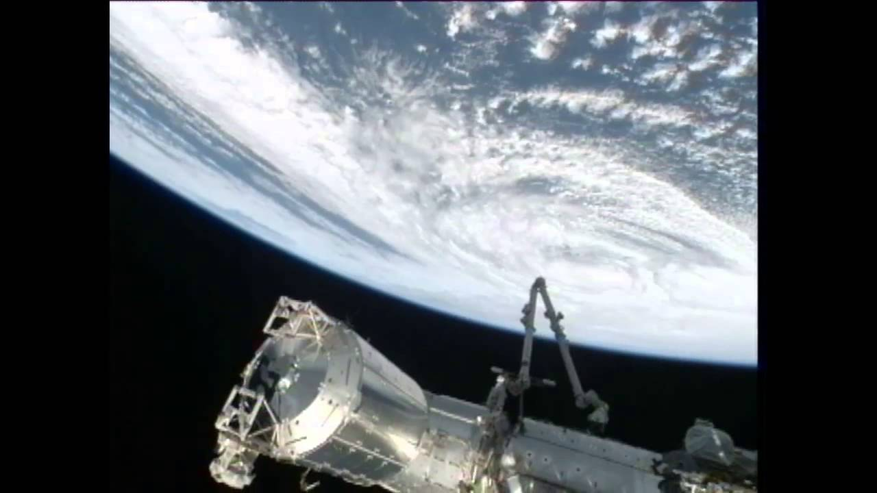 hurricane sandy from space station - photo #21