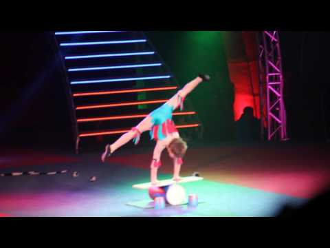 Stars of Future Festival at Kobzov Circus. Gala-concert