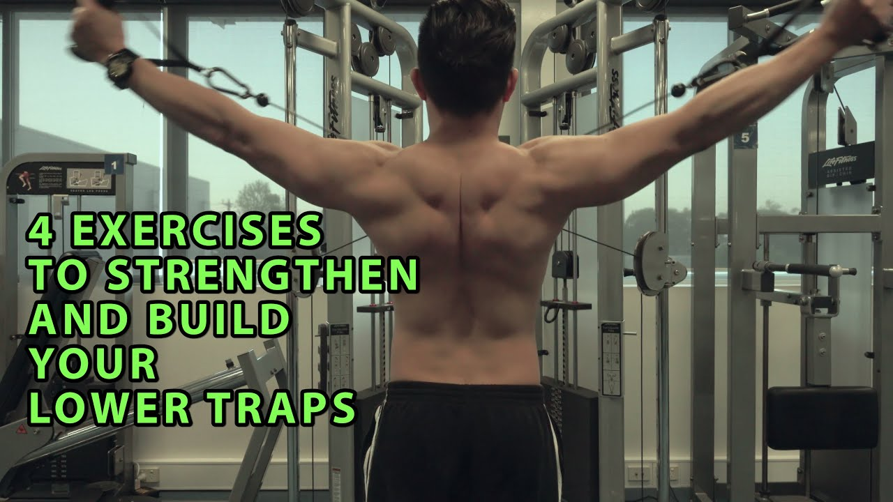 4 Exercises To Build And Strengthen Your Lower Traps Youtube