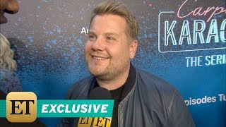 EXCLUSIVE: James Corden Dishes on Baby No. 3 and Which 'Carpool Karaoke' Guest  Made Him 'Depress…