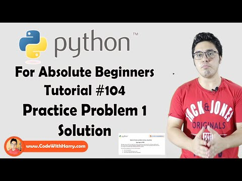 Python Practice 1 Solution | Python Tutorials For Absolute Beginners In Hindi #104 thumbnail