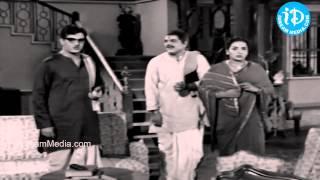 KV Chalam, NTR, Kanchana, Savithri Nice Scene - Thalli Prema Movie