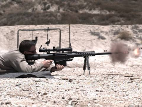 Barrett .50 Cal Super Slow Motion