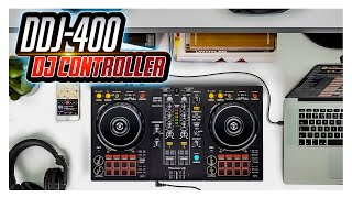 $250 for a DJ controller that does all this? | DDJ-400 Gear Review/Demo
