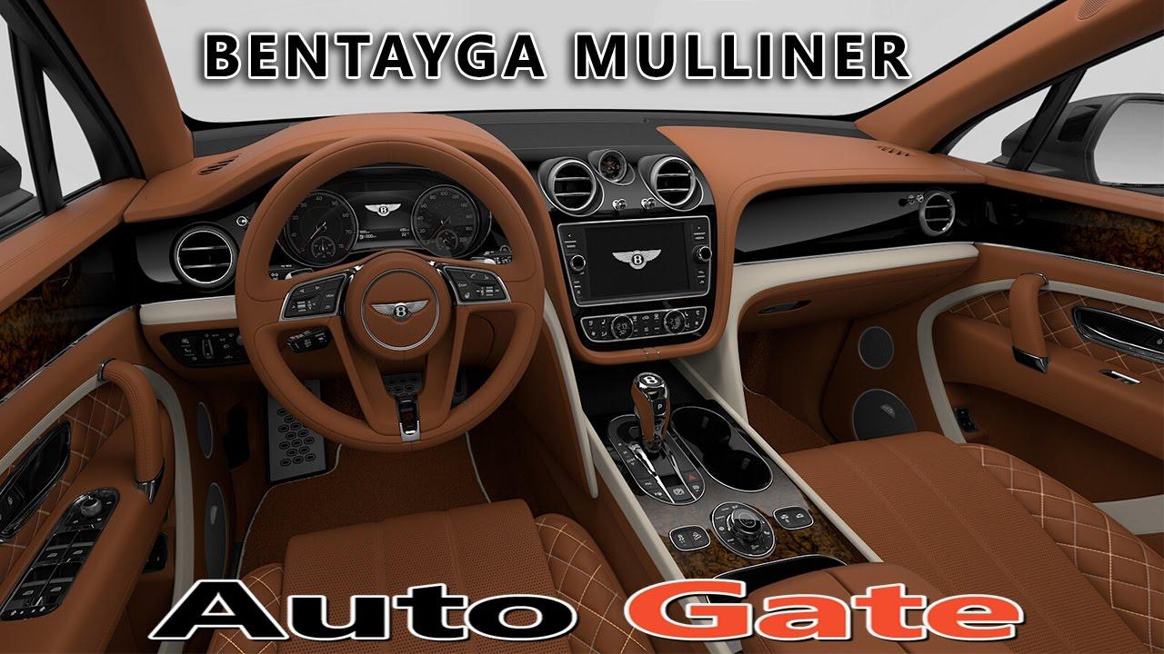 2018 Bentley Bentayga Mulliner Interior Colors Most Luxurious Suv