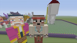 Minecraft Xbox 360 - Build it for a Biscuit Challenge - Fairy Tale