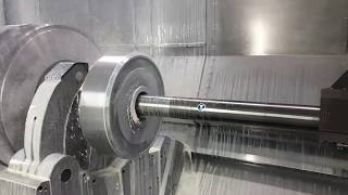 TechSession: Powerful and vibration-damped boring bar is used on the M175 MILLTURN