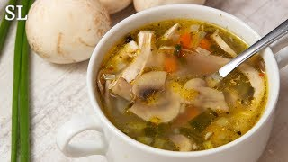 Рассольник с Перловкой и Грибами! Очень Вкусный и Ароматный Суп! Рецепт!