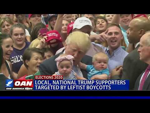 Local, National Trump supporters targeted by leftist boycotts