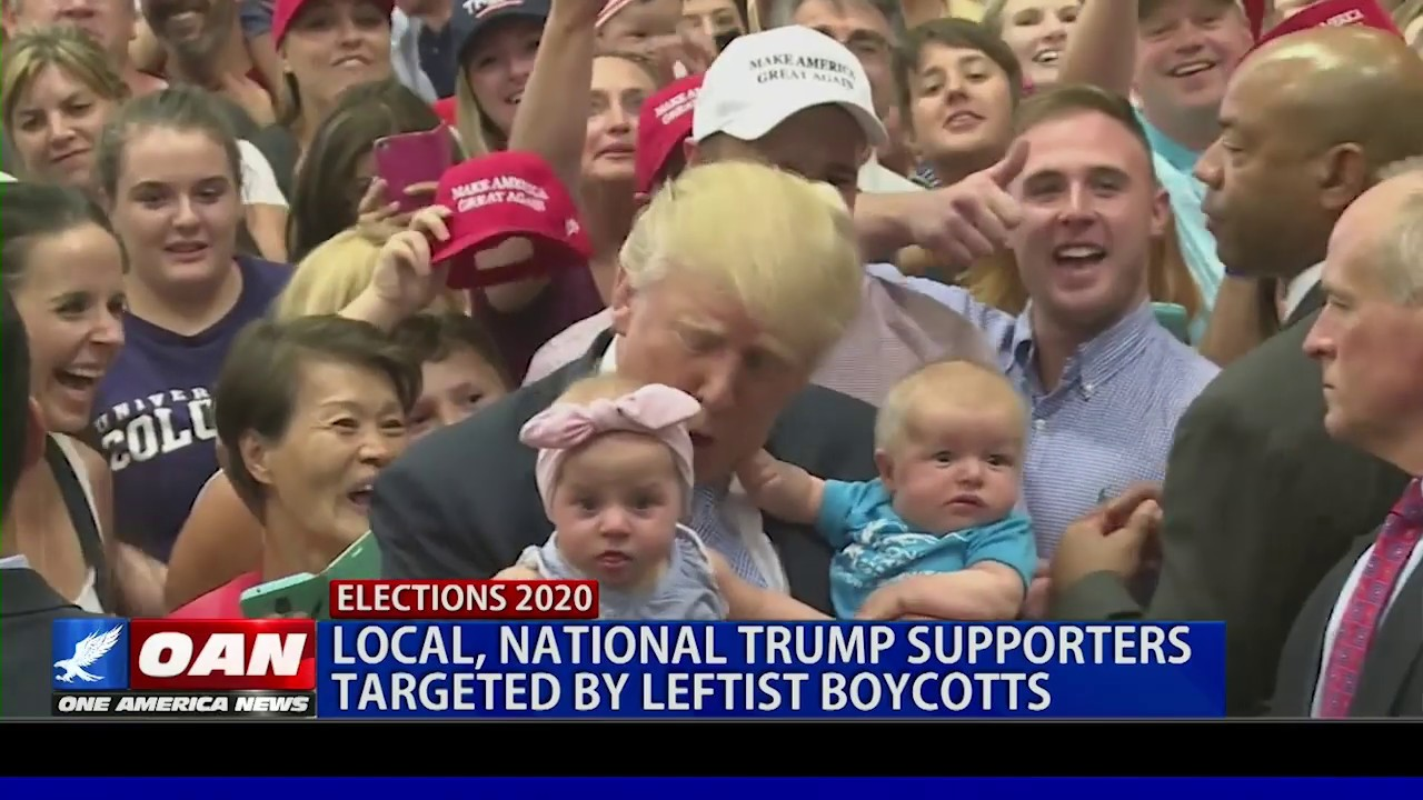 OAN Local, National Trump supporters targeted by leftist boycotts