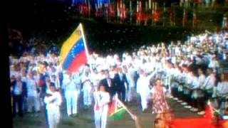 venezuela en la inaguracion de los juegos olímpico Londres 2012