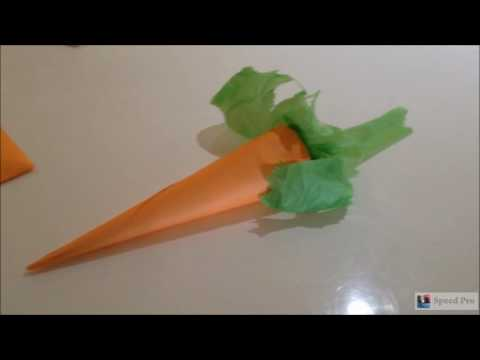 Simple toddler activity - make a craft veggie patch
