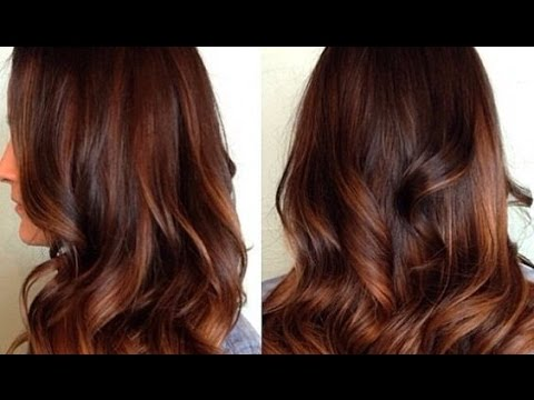 beautiful ombre hair marron caramel youtube. Black Bedroom Furniture Sets. Home Design Ideas