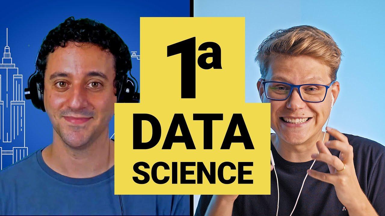 Data Science: Introdução a Ciência de Dados (Primeira aula prática programando em Python)