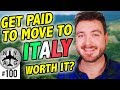 Get paid to move to Italy - $27,000 (€700 per month) to move to Molise Italy