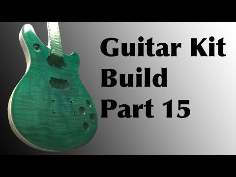 The Guitar Kit Build From Guitar Fetish Part 15 | Tinted Lacquer Top