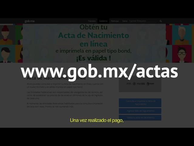 Cómo tramitar tu acta de nacimiento por internet | Noticieros Televisa