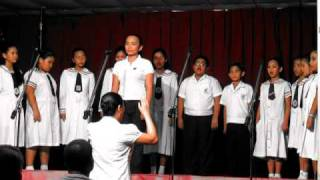 Prayer of St. Francis - Rhina Palma with the Glee Club of Namei