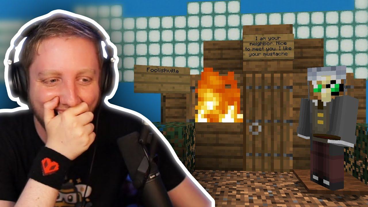 Foolish MOVED IN Philza's Basement So Philza BURNED DOWN His House! DREAM SMP