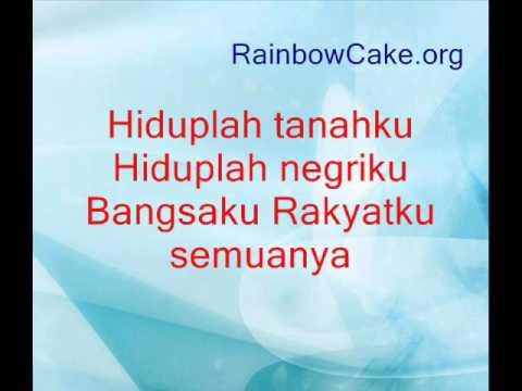 IndonesiaRaya - Lagu Dan Lirik - Paduan Suara