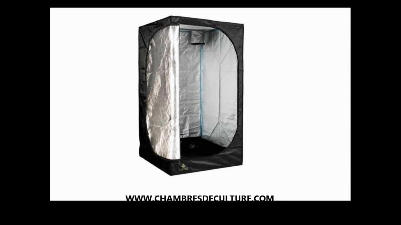 Box de culture chambre dark street 2 120x120x180 youtube for Mini chambre de culture