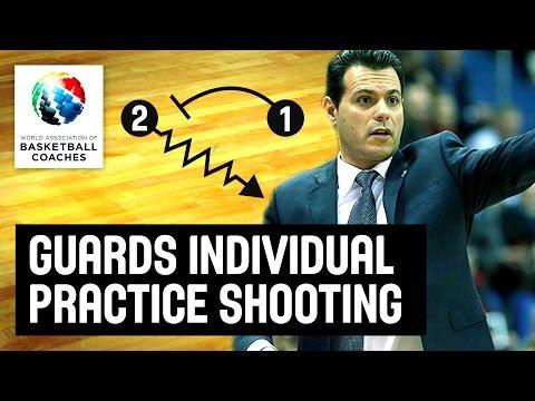 Guards individual practice shooting workout - Dimitris Itoudis - Basketball Fundamentals