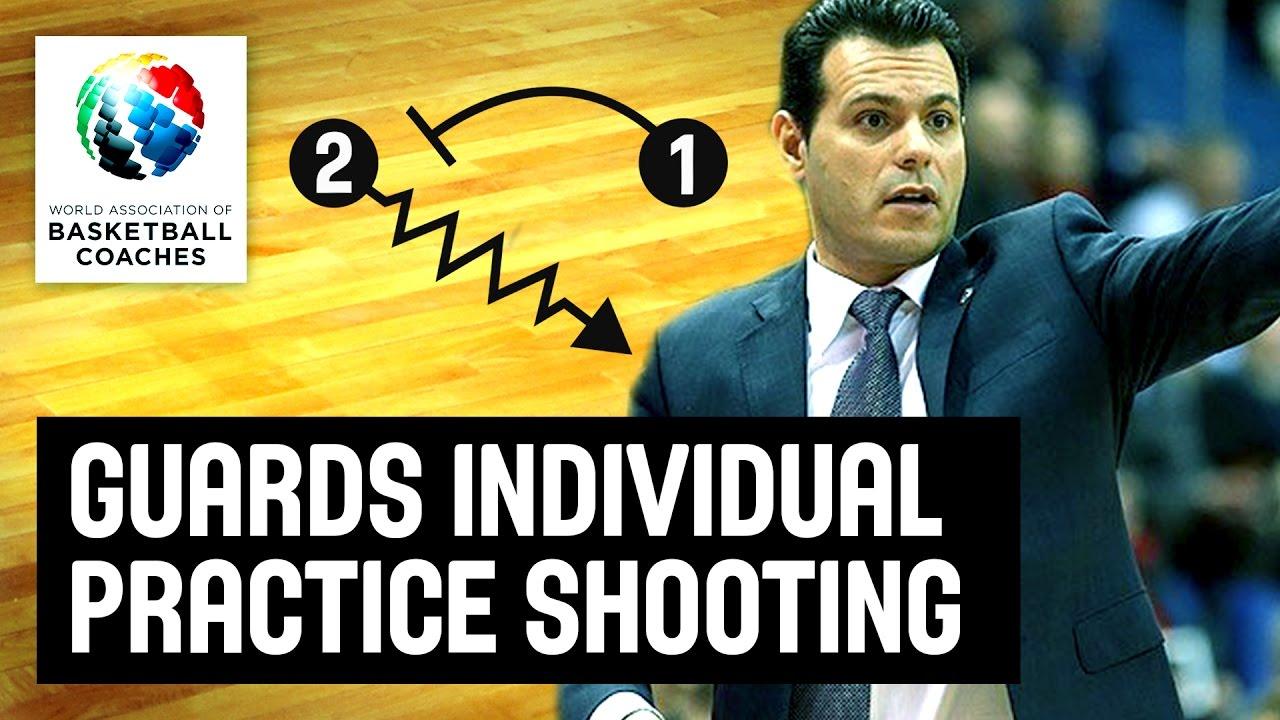 Guards individual practice shooting workout - Dimitris Itoudis -