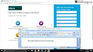How to buy CRM plans from Microdatum - Tutorial - Screencastify(, 2017-06-19T13:10:17.000Z)