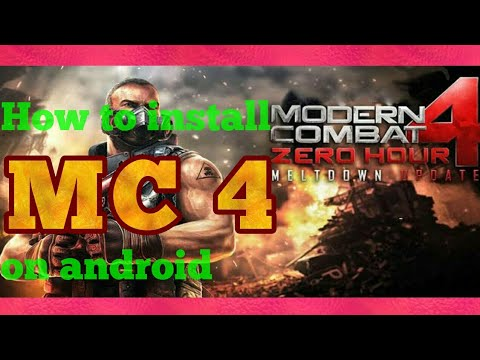 How To Download Install Modern Combat 4 Apk Mod For Free On