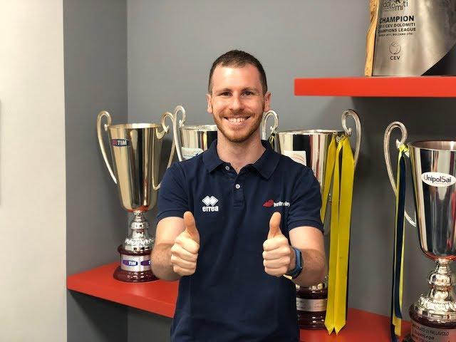Mattia Castello promosso Scoutman della prima squadra di Trentino Volley