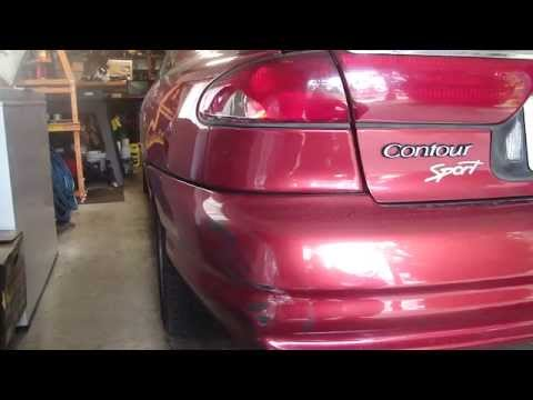 How to Replace a Tail Light on a '98 Ford Contour & Body Detailing