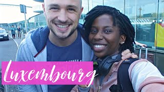 I LEFT HIM ALONE WITH THE KIDS - DELIVERING MY KEYNOTE SPEECH | LUXEMBOURG TRAVEL VLOG | AdannaDavid