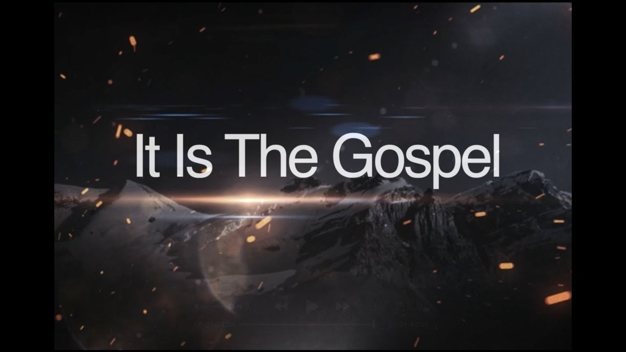 It Is The Gospel - Speak Out Against Injustice