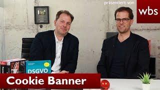 Die Zukunft der Cookie Banner: Wie ist die Rechtslage? | Rechtsanwalt Solmecke & Usercentrics
